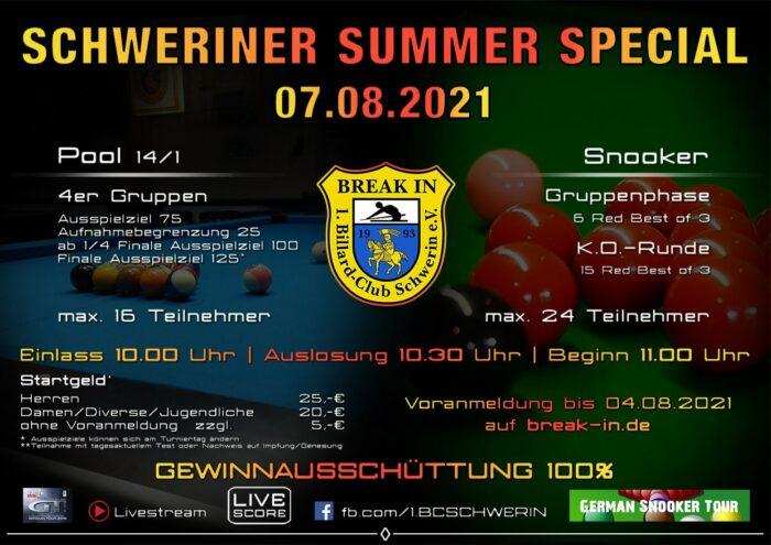 Schweriner Summer Special 2021